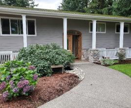 senior home entrance